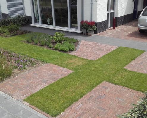Ontwerp voortuin wageningen ultima flora for Ontwerp voortuin met parkeerplaats