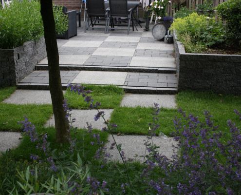 Tuinontwerp achtertuin in Veenendaal