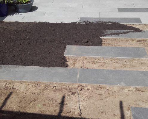 grondverbetering bij aanleg tuin