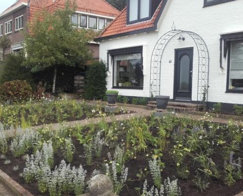 Aanleg tuin in Rhenen